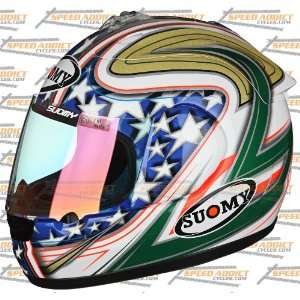 Suomy Excel Spec 1R Extreme Canepa Full Face Helmet