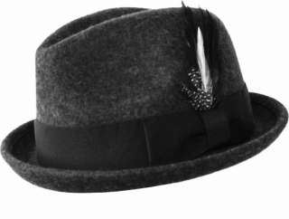 308f484006c3f MEN VINTAGE CHRISTYS LONDON GRAY FUR FELT FEDORA HAT ENGLAND