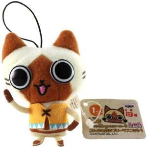 Official Monster Hunter 2010 Plush Strap: 3   Airu: Toys & Games