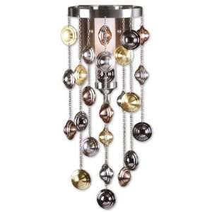 Uttermost Brushed Nickel Carisa Wall Sconce
