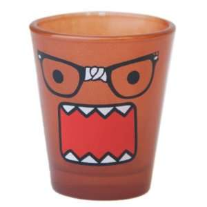 Domo Nerd Face Japanese Cartoon Animation Shot Glass