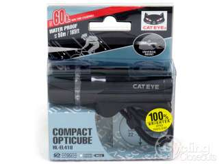 CATEYE 3 LED ROAD BIKE CYCLING HEAD LIGHT HL EL410 BLK 725012016640