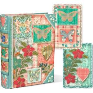 Butterflies Punch Studio Book Box with Playing Cards Arts
