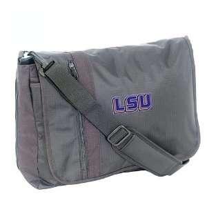 Mercury Luggage LSU Tigers Black Messenger Bag Sports