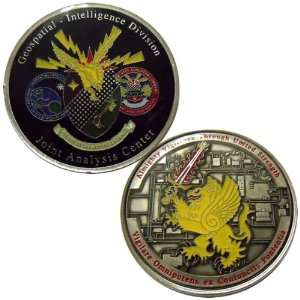Geospatial Intelligence Challenge Coin