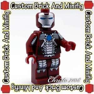 Custom Lego Iron Man Mark 5