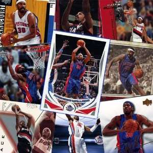 Detroit Pistons Rasheed Wallace 20 Card Player Set Sports