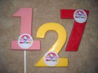 Chocolate Edible Icing LARGE 3x4 # Cat Hello Kitty Lollipops Lollipop