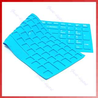 Keyboard Skin Cover For Sony VAIO VPC EB Series Blue