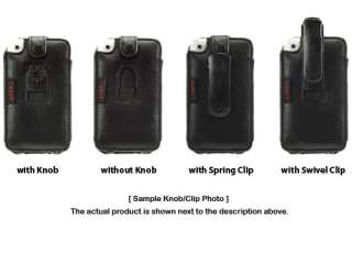 Cellet Apple iPhone Elite Leather Case with Cellet Swivel Clip