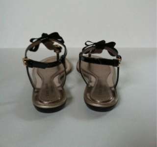 Pre Owned Kate Spade Black Sandals Size 6.5