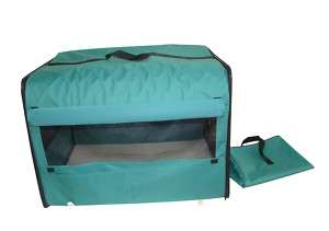 Dog Cat Pet Bed House Soft Carrier Crate Cage w/Case LT 814836016643