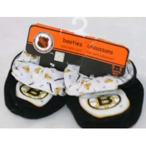 Boston Bruins NHL 0 6 Months Booties National Hockey League Baby