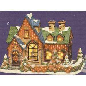 Christmas Village Collection ~ Hearthstone Manor House ~ Color