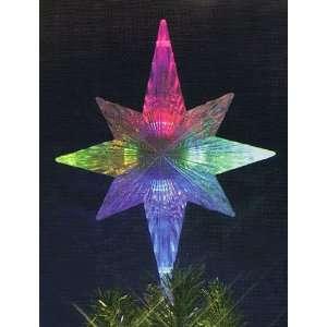 Christmas Tree Topper   Multi Color Lights