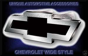 1PC CHEVY CHEVROLET TRUCK SUV BRUSHED HITCH PLUG COVER
