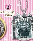 Re Ment Disney Compact Mirror Princess Snow White Hand Mirror Keychain