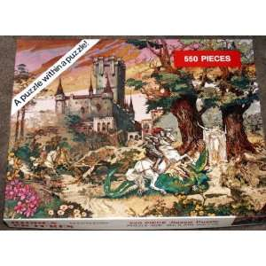 Hidden Pictures by Larry Evans 550 Piece Jigsaw Puzzle Toys & Games