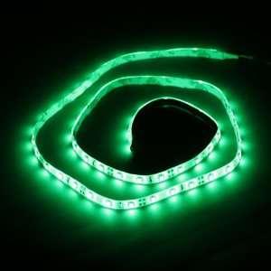 Green 1M 60 LED 3528 SMD Flexible Car DIY Strip Light