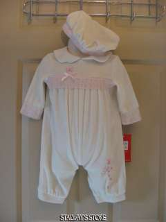 Baby Togs Princess Romper w/Hat Pink 3 6 Months NWT
