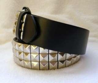 ROW PYRAMID Studded Rock Leather Belt WHOLESALE 12 pc LOT
