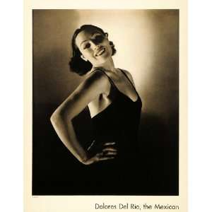 1935 Delores Del Rio Mexican Actress Edward Steichen   Original