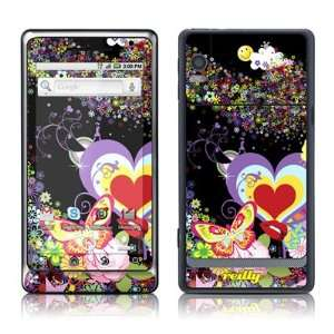 Flower Cloud Design Protective Skin Decal Sticker for Motorola Droid 2