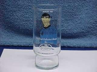 1976 STAR TREK TV CARTOON DR. PEPPER PROMO GLASSES