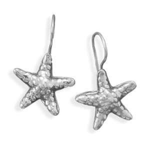 Silver Oxidized Starfish Earrings West Coast Jewelry Jewelry