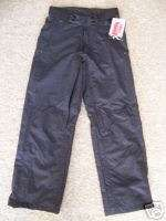 NEW MARKER BLACK SKI SNOWBOARD PANTS MENS S