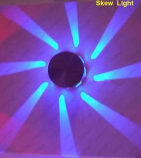 1W LED Wall Hall Indoor Lights Fixture Bulb Multi Color