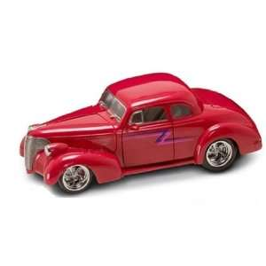 Yatming Shyne Rodz   Chevy Coupe Hard Top (1939, 1:18, Red