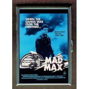 MAD MAX MEL GIBSON 1979 POSTER ID CIGARETTE CASE WALLET