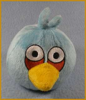 Commonwealth Angry Birds Plush Toy 4 BLUE Bird New