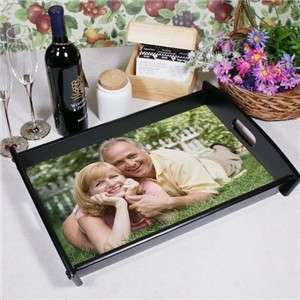 Personalized Custom Printed Photo Serving Tray