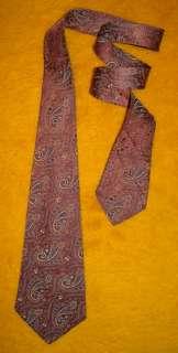 1920s   1930s ~ VINTAGE ANTIQUE ~ DRESS SHIRT SUIT TIE ~ PAISLEY