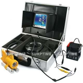 50M Underwater Video Fishing Camera 7 inch Color TFT LCD Monitor