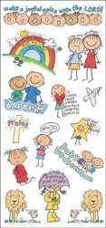 MAMBI Me & My Big Ideas Gods Kids Stickers Baptism