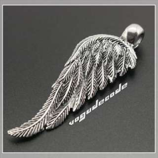 Cool Angel Bird Wing 316L Stainless Steel Pendant W032