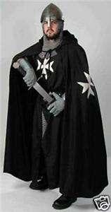 MEDIEVAL KNIGHTS OF ST. JOHN CAPE  Maltese X  SCA LARP