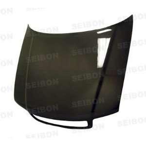 SEIBON CARBON FIBER HOOD OEM HD9601AUA4 OE: Automotive