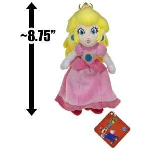 Princess Peach ~8.75 Plush   Super Mario Bros Plush