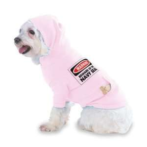 SEAL Hooded (Hoody) T Shirt with pocket for your Dog or Cat Size XS Lt