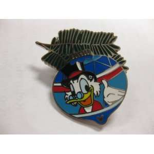 Disney Pin Scrooge McDuck Christmas Ornament Hidden Mickey
