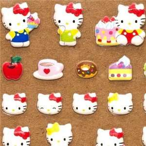 cute Hello Kitty sponge sticker with sweets Toys & Games
