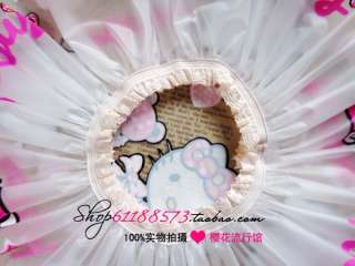 Cute hello kitty shower cap