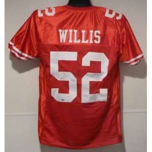 Patrick Willis Autographed San Francisco 49ers Red Size XL Jersey