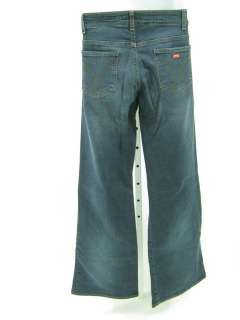 MISS SIXTY Dark Blue Denim Flare Jeans Pants Sz 30