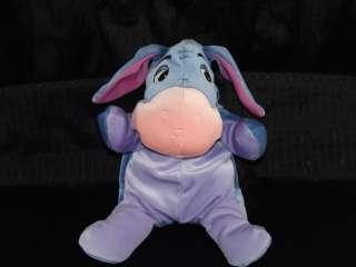 12 Plush Disney Winnie Pooh Floppy Eeyore Donkey Lovey