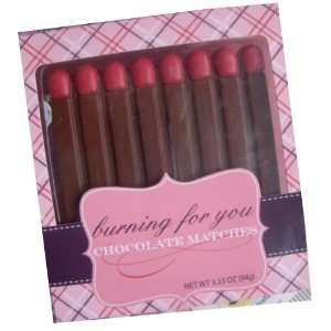Saint Valentines Chocolate (Burning for You Chocolate Matches